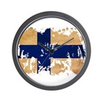 Finland Flag Wall Clock