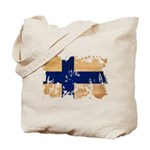 Finland Flag Tote Bag