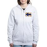 Finland Flag Women's Zip Hoodie