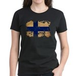 Finland Flag Women's Dark T-Shirt