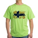 Finland Flag Green T-Shirt