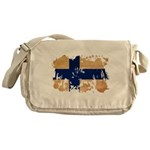 Finland Flag Messenger Bag