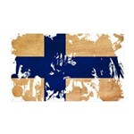 Finland Flag 38.5 x 24.5 Wall Peel