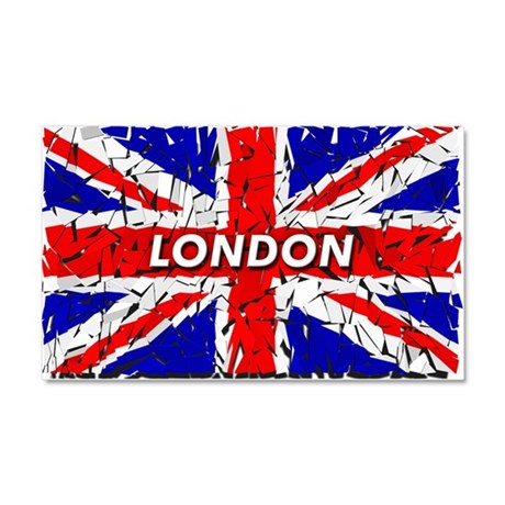 Awesome British Flag Car Magnet 20 x 12