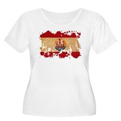 French Polynesia Flag T-Shirt