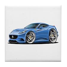 California Blue Coupe Tile Coaster