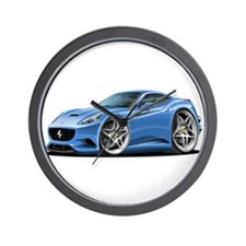California Blue Coupe Wall Clock