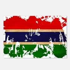 Gambia Flag Postcards (Package of 8)