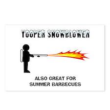 Yooper Snowblower Postcards (Package of 8)