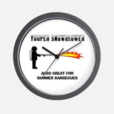 Yooper Snowblower Wall Clock