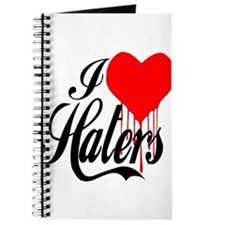 I Love Haters -- T-Shirt Journal
