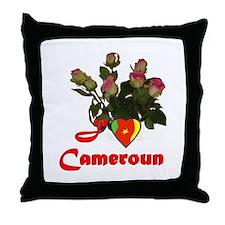 Cameroon Goodies Throw Pillow