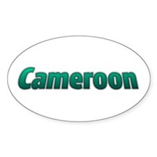 Cameroon Goodies Oval Decal