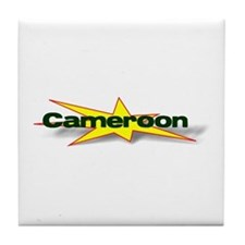 Cameroon Goodies Tile Coaster