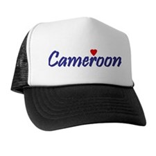 I Love Cameroon Trucker Hat