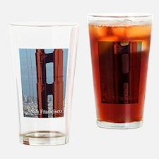 San Francisco Golden Gate Bridge Drinking Glass