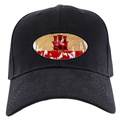 Gibraltar Flag Baseball Hat