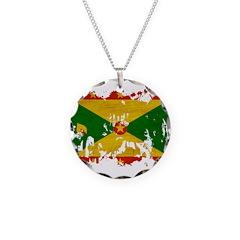 Grenada Flag Necklace