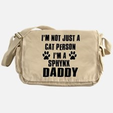 Sphynx Daddy Messenger Bag