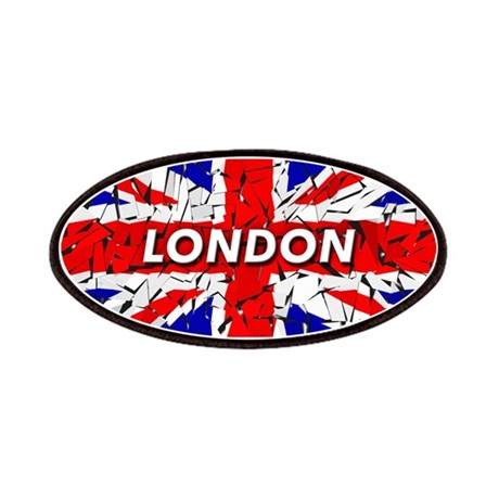 Awesome British Flag Patches