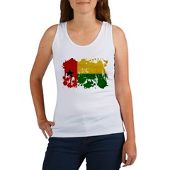 Guinea Bissau Flag Women's Tank Top