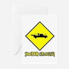 Yooper Crossing Greeting Cards (Pk of 10)