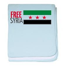 Funny Freedom baby blanket