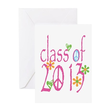 PINK Class of 2013 Greeting Card
