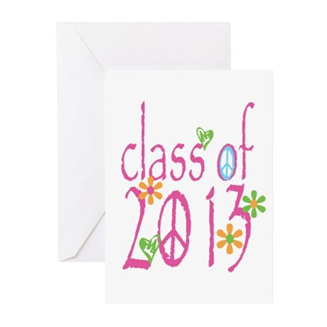 PINK Class of 2013 Greeting Cards (Pk of 10)