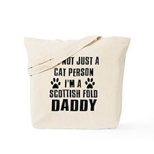Scottish Fold Daddy Tote Bag