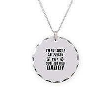 Scottish Fold Daddy Necklace