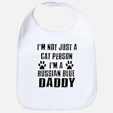 Russian Blue Daddy Bib