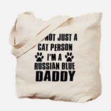 Russian Blue Daddy Tote Bag