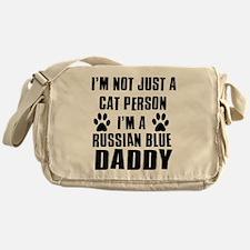 Russian Blue Daddy Messenger Bag