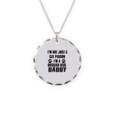 Russian Blue Daddy Necklace