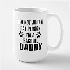 Ragdoll Daddy Large Mug