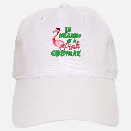Pink Christmas Baseball Baseball Baseball Cap