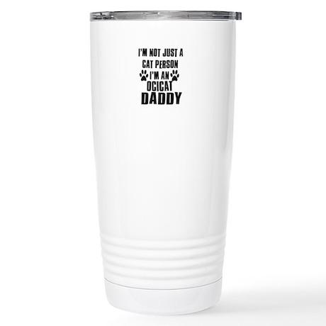Ocicat Daddy Stainless Steel Travel Mug