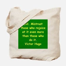 victor hugo quote Tote Bag