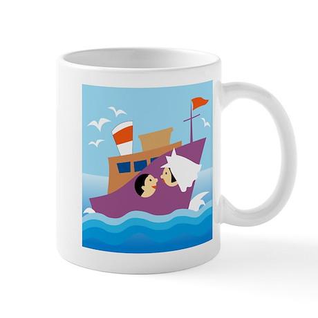 Honeymoon on Ship Mug