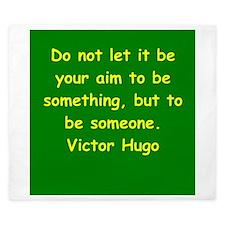 victor hugo quote King Duvet