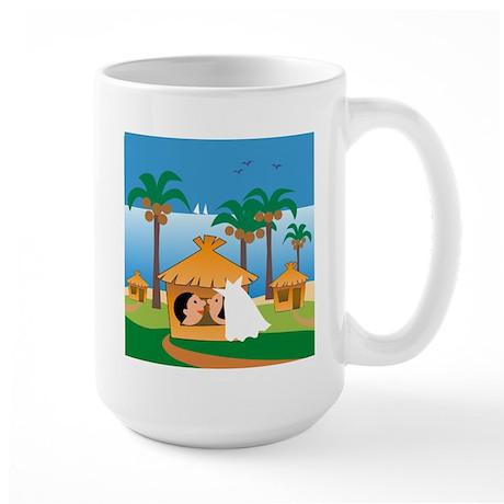Hawaii Honeymoon Large Mug