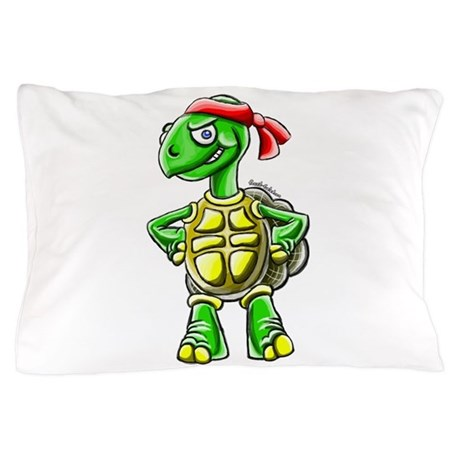 Ninja Turtle Tortoise Pillow Case by ninjatortoise
