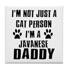 Javanese Daddy Tile Coaster
