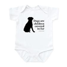 Dog Fur Children Infant Creeper