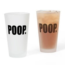 Unique Toilet humor Drinking Glass