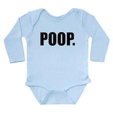 Cool Toilet humor Long Sleeve Infant Bodysuit