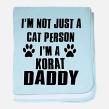 Korat Daddy baby blanket