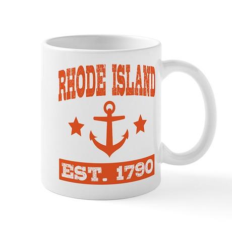 Rhode Island Anchor 1790 Mugs