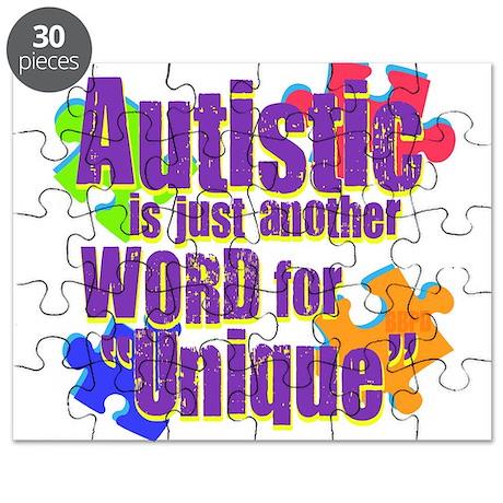 Unique Autism Puzzle